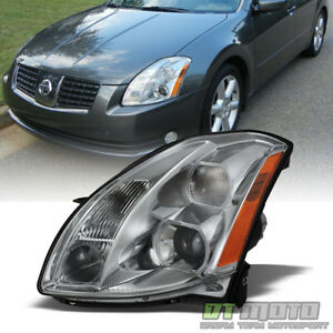 For 2004 2006 Maxima Replacement Headlight Headlamp Light Lamp Driver Side left