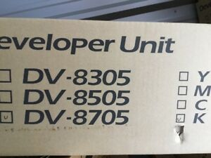 Dv 8705k Black Developer Unit For Taskalfa 6550ci 302k993071