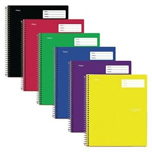 Five Star Interactive Notetaking 1 Subject College Ruled Notebooks 100 Sheets