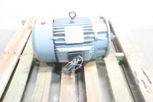 Reliance Duty Master 10hp 215ty 1760rpm 3ph 230 460v ac Electric Motor