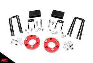 Rough Country 2 Leveling Kit Fits 2016 2019 Nissan Titan Xd Suspension 868red