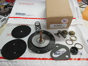 1955 Chevy 4445 4656 4657 4346 4432 4460 4150 4430 Ac Fuel Pump Rebuild Kit V8