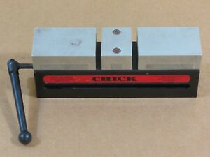 Chick Workholding 081 1200 Qwik lok Clamp 0520 system 5 50mmx200mmx75mm dual Jaw