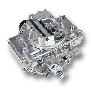 Holley 0 80457s Carburetor Street Warrior 600 Cfm 4 barrel Polished With Electri