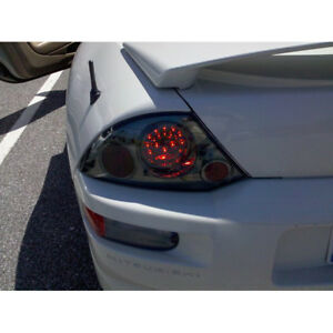 Smoked Fits 00 02 Mitsubishi Eclipse Philips led Tail Brake Lights Left right