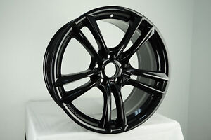 20 Bmw 5 Gt 7 Series Oem Gloss Black Wheel Rim Style 303 Front 71379