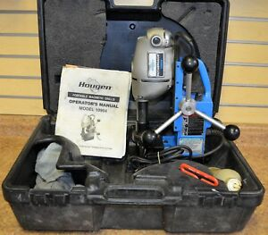 Hougen 10904 Roto broach Portable Magnetic Drill W Hard Case Free Shipping