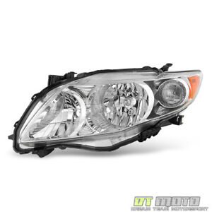 For 2009 2010 Toyota Corolla Base Ce Le Xle Headlight Head Lamp Lh Driver Side