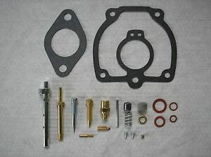 Ih Farmall Super H Complete Carburetor Rebuild Kit 18 3 44