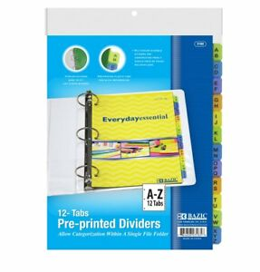 Dividers For Binders Printed Polypropylene 3 ring Binder With Dividers