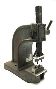 Dake O 12 Inch Travel 1 1 2 Ton Single Lever Arbor Press 1 Inch Square Shaft