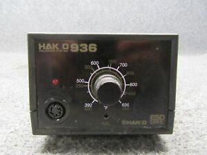 Hakko 936 Esd Soldering Iron Station Controller No Iron Handle