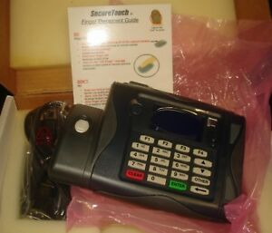 Biometric Access Fingerprint Securetouch Time Clock W Id Card Reader