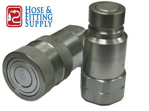 Hydraulic Quick Couplings flush Face flat Face Set 1