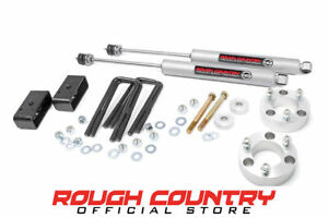 Rough Country 3 Inch Suspension Lift Kit For 05 18 Toyota Tacoma 4wd