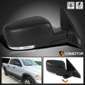 2009 2012 Dodge Ram 1500 Led Signal Power heat Foldable Side Mirror Passenger