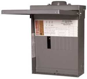 Square D Qo816l100rb 100a 1 phase Main Lug Load Center 8 Circuit