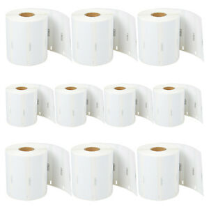 10 Rolls Of 1050 Labels For Dymo Lw 4xl 3 1 2 X 1 1 8 Address Labels 1785353