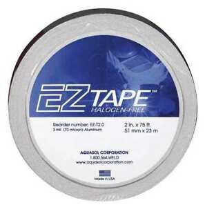 Aquasol Ez t 2 0 Aluminum Tape 2x75 Ft