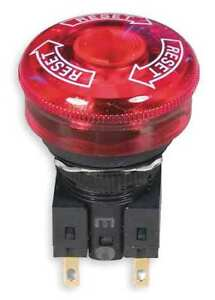 Illuminated Emergency Stop Push Button Omron Sti 11002 7003