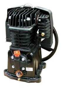 Air Compressor Pump 1 Stage 2 Cylinders Rolair Pmp12mk113gr