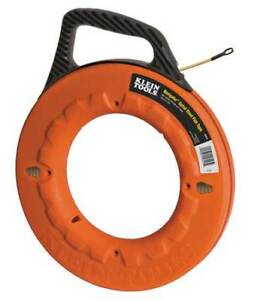 Klein Tools 56013 Fish Tape 3 16 In X 50 Ft spiral Steel