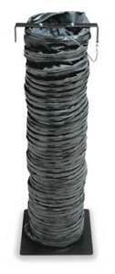 Statically Conductive Duct 25 Ft black Allegro 9500 25ex