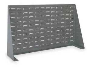 Louvered Bench Rack 36 X 8 X 20 In Akro mils 98636