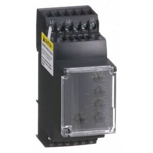 3 Phase Monitor Relay dpdt 480vac 12 Pin