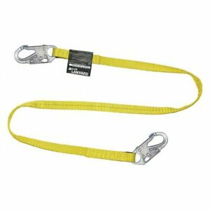 Positioning Lanyard 6 Ft 1 Leg with Snap Honeywell Miller 213wls z7 6ftyl