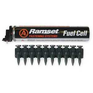 Ramset Fpp012 Fuel Pack And Pin Kit for 2hnx1 2 Pc