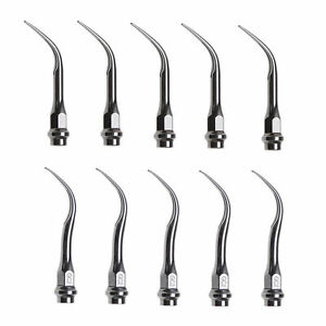 10x Dental Insert Tips Gc1 Gc2 Fit Kavo Lux Ultrasonic Piezo Scaler Handpiece