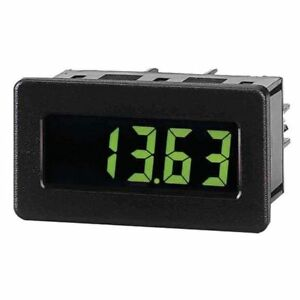 Dc Voltmeter W yel grn Backlighting Red Lion Cub4v010