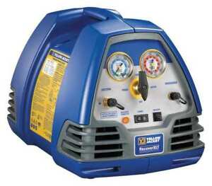 Refrigerant Recovery Machine 1 2 Hp 115v Yellow Jacket 95762
