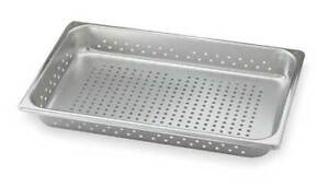 Perforated Pan half size Vollrath 30243