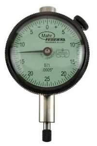 Dial Indicator 0 To 0 125 In 0 25 0 Mahr federal Inc B7i