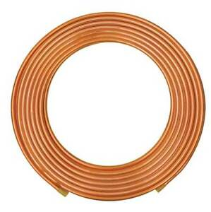 1 2 Od X 100 Ft Coil Copper Tubing Type L Mueller Industries Ls03100