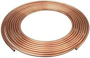1 2 Od X 100 Ft Coil Copper Tubing Type Acr Mueller Industries D 08100p