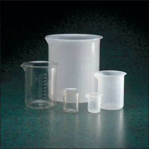Beaker Graduated pmp 500ml pk6 Dynalon 222045 0500