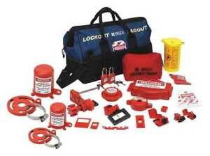 Brady 99690 Portable Lockout Kit electrical valve 22