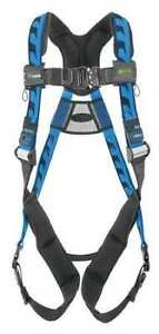 Honeywell Miller Aca qc ubl Full Body Harness Vest Style L xl Polyester Blue