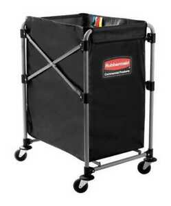Collapsible Basket X cart 4 Bu Cap Rubbermaid 1881749