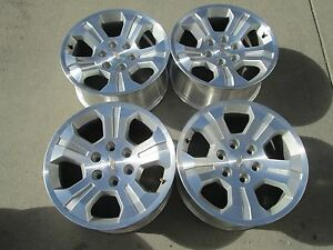 18 Chevy Gmc 1500 Silverado Tahoe Avalanche Z71 Factory Oem Wheels Rims A