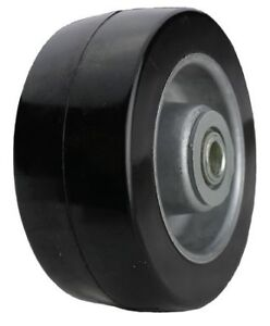 Caster Wheel rubber 6 In 550 Lb Zoro Select Md0620112