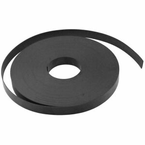 Zoro Select 10e826 Magnetic Strip 100 Ft L 1 In W