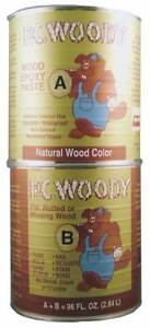 Epoxy wood Filler tan 96 Oz Can Pc Products 128336