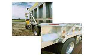 Dump Truck Electric Tarp System Kit W Wind Deflector Galvanized Steel Arms