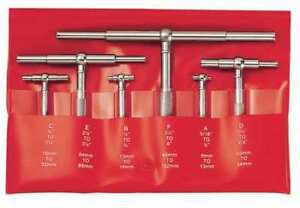 Starrett S579hz Telescoping Gage Set 5 16 6 In 6 Pc