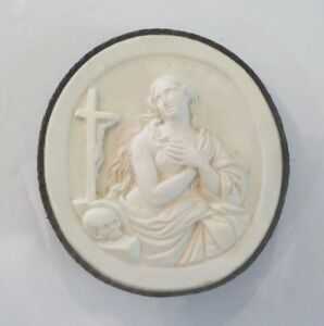 Authentic Grand Tour Classic Plaster Cameo Intaglio Medallion C 1820 11