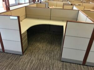 Used Office Cubicles Knoll Dividends 8x6 Cubicles